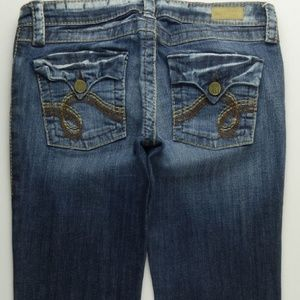 See Thru Soul STS Boot Cut Jeans Women's 27 A464